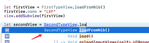 loadFromNib协议方法